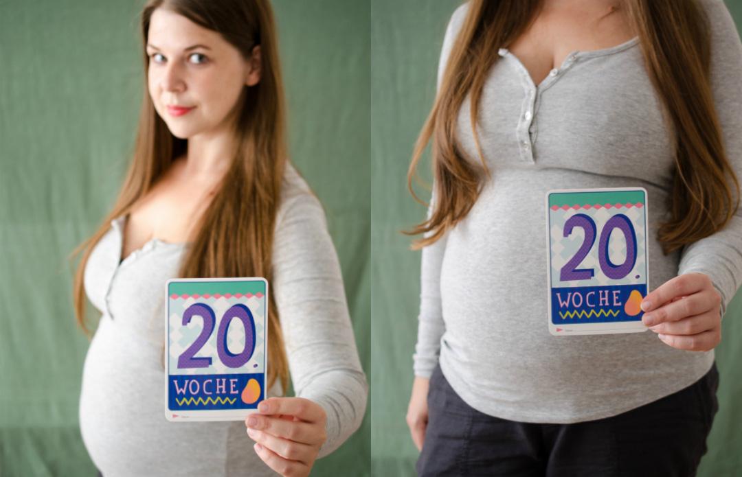 wochen schwanger bauch